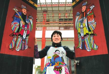 chinese door god chinese culture  sc 1 st  China Today & Chinese Door God Chinese Culture Chinese Festival