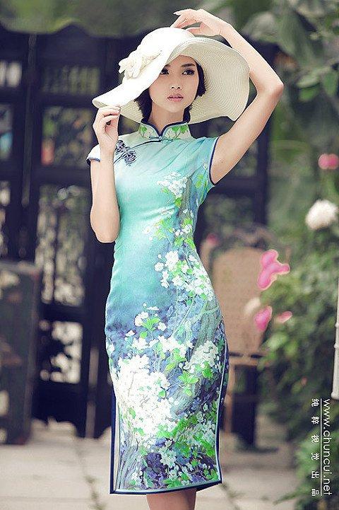Qipao Dress Pattern Qipao, Chinese ...