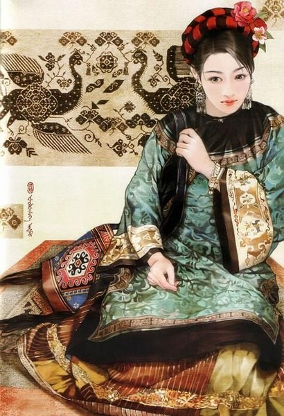 tujia woman china ethnic group tujia  sc 1 st  China Today & Tujia women dress and accessories female dresses and accessories of ...